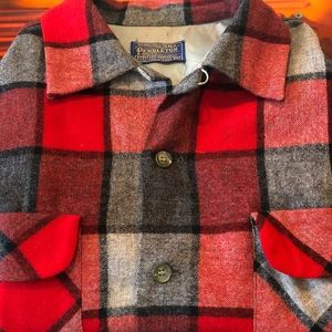 Pendleton Tops - Vintage Pendleton Men's Wool Long Sleeve Shirt M